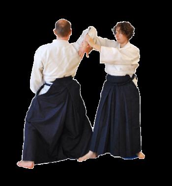 aikido nantes technique adulte shihonage femme